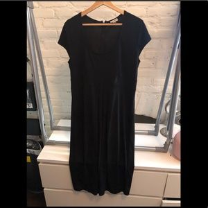 Isaac Mizrahi for Target Size L midi black dress